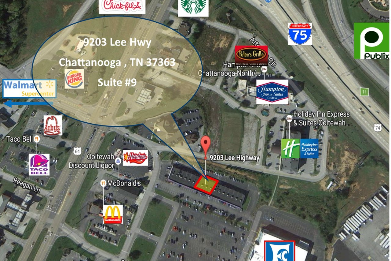 9203 Lee Hwy Ooltewah, TN 37363 - Retail Space for Lease on