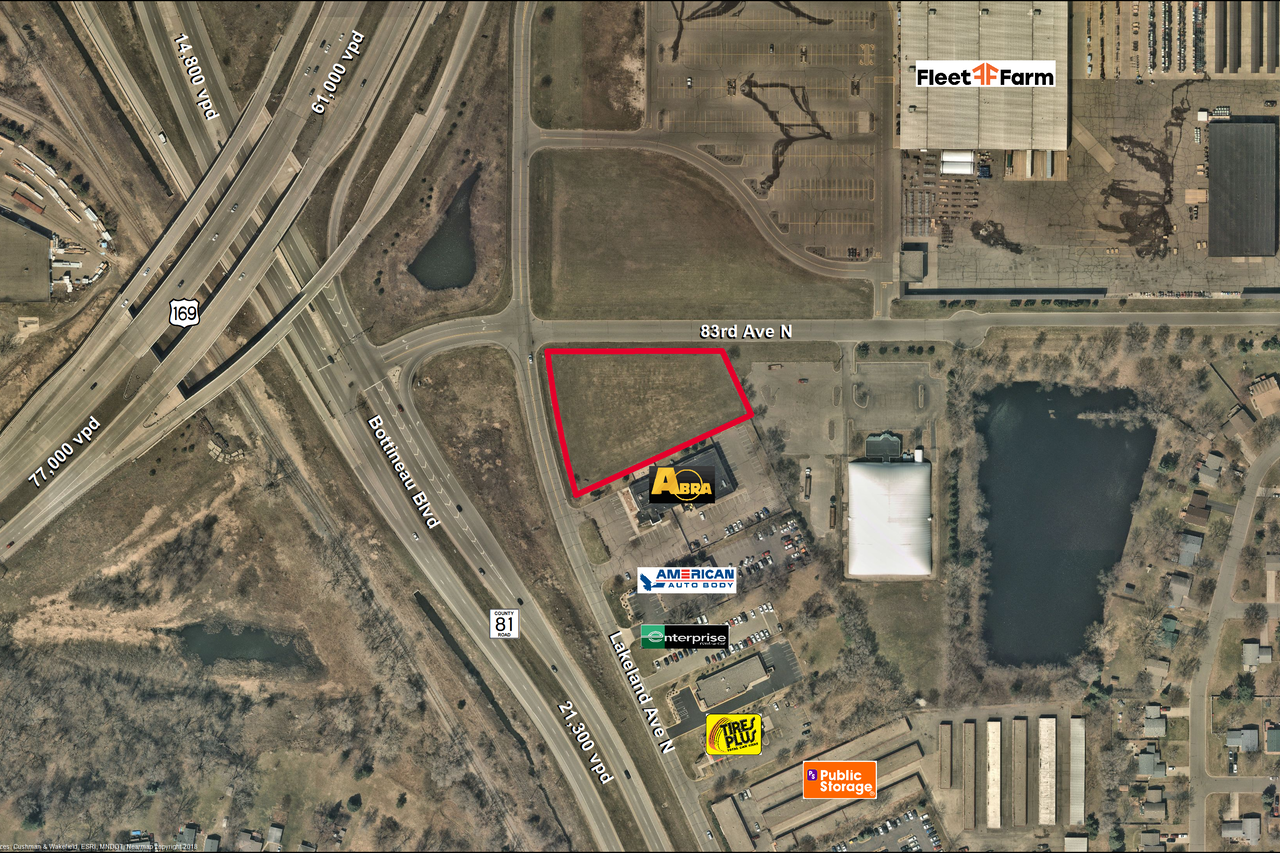 8232 Lakeland Ave N Brooklyn Park, MN 55445 - Land Property for Sale