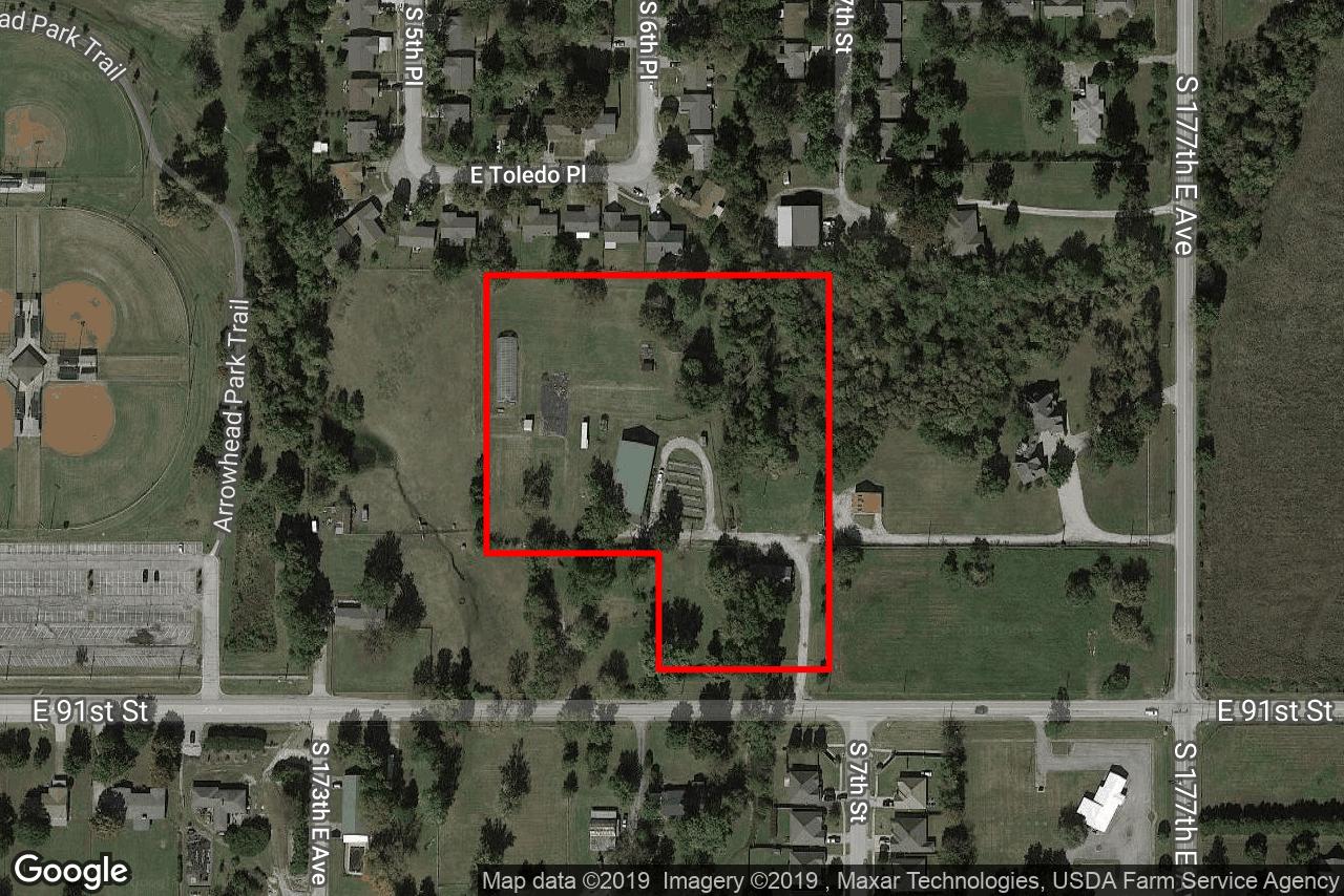500 E Washington St Broken Arrow Ok 74012 Land Property